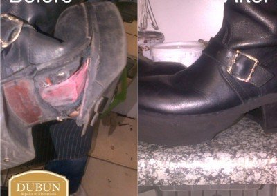 Leather Boots Repairs and Restorations